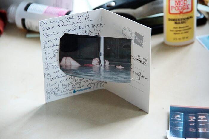 Christmas photocard gift
