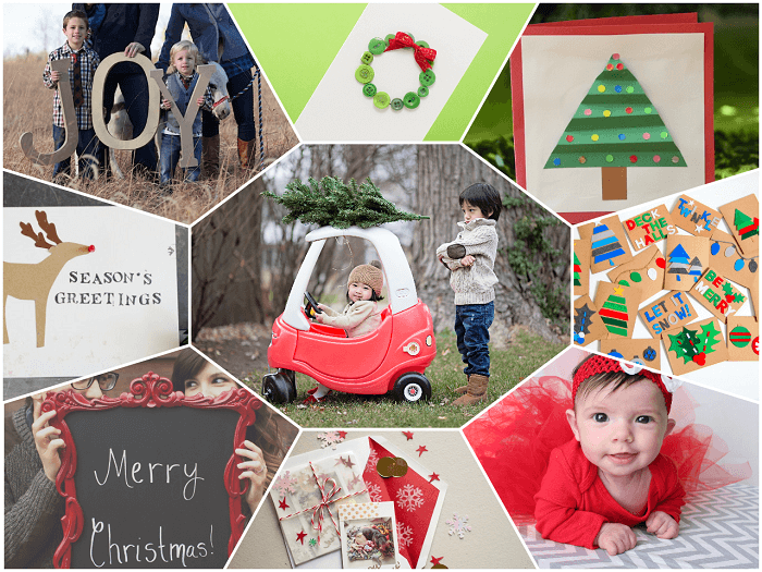 Create holiday photo cards